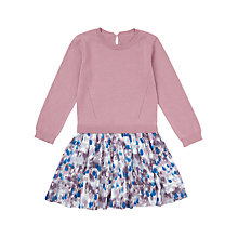 Buy Jigsaw Girls' Rain Two In One Dress, Heather Online at johnlewis.com