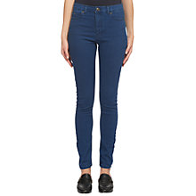 Buy Whistles High Waist Skinny Jeans, Denim Online at johnlewis.com