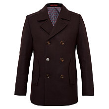 Buy Ted Baker Biza Wool-Blend Peacoat Online at johnlewis.com