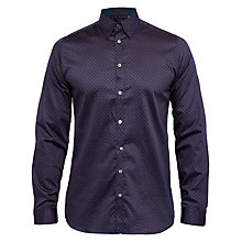 Buy Ted Baker T for Tall Lentt Geo Print Cotton Shirt Online at johnlewis.com