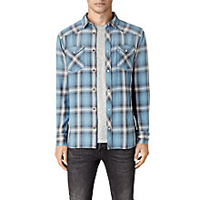 Buy AllSaints Bridger Slim Fit Shirt Online at johnlewis.com