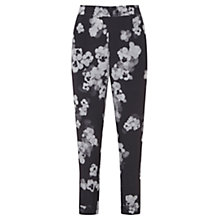 Buy Mint Velvet Ashley Floral Print Sport Trousers, Grey/Ivory Online at johnlewis.com