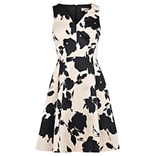 Buy Coast Belise Print Kristen Dress, Camel Online at johnlewis.com