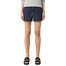 Buy AllSaints Sue Sports Shorts, Dark Indigo Online at johnlewis.com