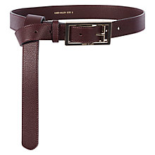 Buy Karen Millen Leather Knot Belt Online at johnlewis.com