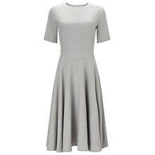 Buy Phase Eight Leoni Fit And Flare Dress, Grey Online at johnlewis.com