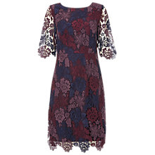 Buy White Stuff Renee Dress, Purple Night Online at johnlewis.com