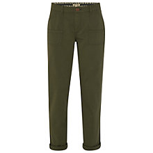 Buy White Stuff Tilly Trousers, Spinach Green Online at johnlewis.com
