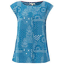 Buy White Stuff Secret Garden Vest, Empire Green Online at johnlewis.com