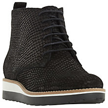 Buy Dune Padmore Lace Up Flatform Ankle Boots Online at johnlewis.com
