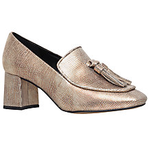 Buy KG by Kurt Geiger Alexa Square Toe Court Shoes Online at johnlewis.com