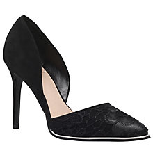 Buy KG by Kurt Geiger Charm Stiletto Heel Court Shoes Online at johnlewis.com