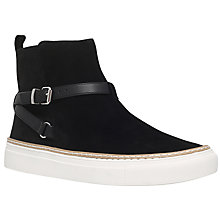 Buy KG by Kurt Geiger Luna Flat High Top Trainers Online at johnlewis.com