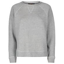Buy Jaeger Jersey Sweatshirt, Grey Online at johnlewis.com