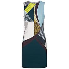 Buy Jaeger Pattern Clash Dress, Multi Online at johnlewis.com