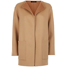 Buy Jaeger Double-Faced Wool Duster Coat Online at johnlewis.com