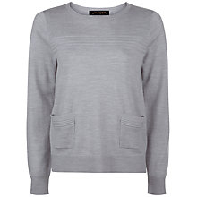 Buy Jaeger Ribbed Detail Wool Jumper Online at johnlewis.com