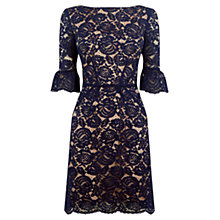 Buy Oasis Lace Bell Sleeve Shift Dress Online at johnlewis.com