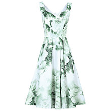 Buy Jolie Moi Sweetheart Neckline Floral Printed Dress, Light Green Online at johnlewis.com
