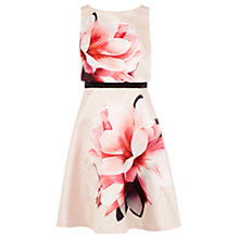 Buy Coast Santiago Print Kendrina Dress, Blush Online at johnlewis.com
