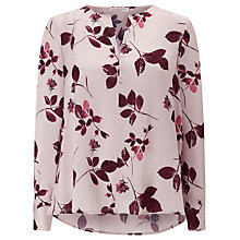 Buy Jacques Vert Floral Blouse, Multi Online at johnlewis.com
