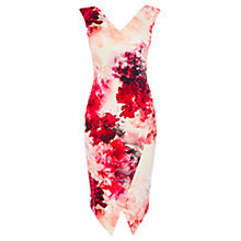 Buy Coast Petite Adra Print Edris Dress, Multi Online at johnlewis.com