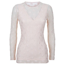 Buy Damsel in a dress Rose Mesh Top Online at johnlewis.com