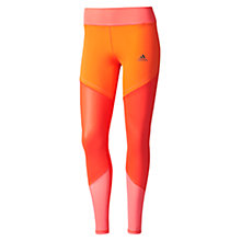 Buy Adidas WOW Training Tights, Red Online at johnlewis.com