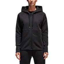 Buy Adidas Stadium Cross Training Hoodie, Black Online at johnlewis.com
