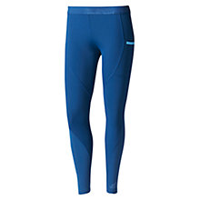 Buy Adidas Corechill Training Tights, Blue Online at johnlewis.com