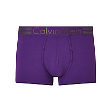Buy Calvin Klein Underwear Iron Strength Cotton Blend Trunks Online at johnlewis.com