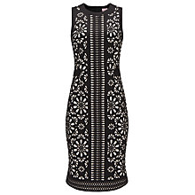 Buy Phase Eight Anesha Dress, Black Online at johnlewis.com
