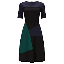 Buy Phase Eight Rosie A-Line Colour Block Dress, Multi Online at johnlewis.com