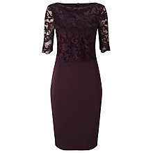 Buy Phase Eight Chelle Dress, Port Online at johnlewis.com