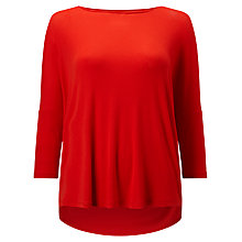 Buy Phase Eight Catrina Top, Tomato Online at johnlewis.com