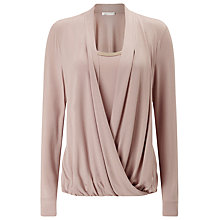 Buy Jacques Vert Jersey Trim Top Online at johnlewis.com
