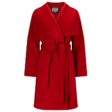 Buy Phase Eight Bruna Belted Coat, Red Online at johnlewis.com