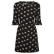 Buy Oasis Margot Clover Flippy Sleeve Dress, Multi Online at johnlewis.com