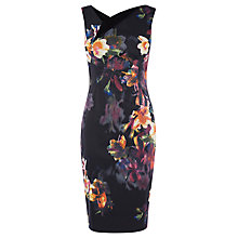 Buy Karen Millen Photograph Orchid Dress, Multi Online at johnlewis.com