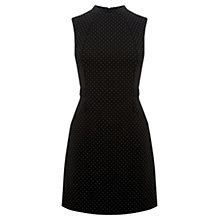 Buy Oasis Spot Shift Dress, Multi/Black Online at johnlewis.com