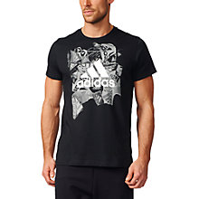 Buy Adidas Badge of Sport Training T-Shirt, Black Online at johnlewis.com