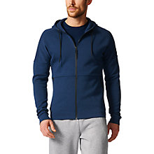 Buy Adidas Stadium Cross Training Hoodie, Navy Online at johnlewis.com
