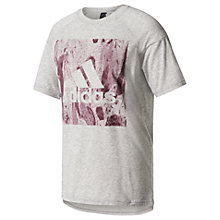 Buy Adidas Sport ID Boxy Fit Training T-Shirt, Grey Online at johnlewis.com