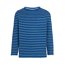 Buy John Lewis Boys' Long Sleeve Bretton Stripe T-Shirt Online at johnlewis.com