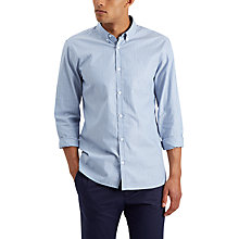 Buy Jaeger Stripe Oxford Regular Fit Shirt, Blue Online at johnlewis.com