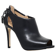 Buy MICHAEL Michael Kors Jennings Bootie Stiletto Heeled Ankle Boots Online at johnlewis.com