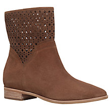 Buy MICHAEL Michael Kors Sunny Bootie Ankle Boots, Brown Suede Online at johnlewis.com