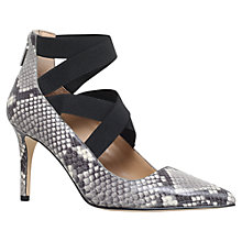 Buy MICHAEL Michael Kors Viva Pump Court Shoes, Snakeskin Leather Online at johnlewis.com