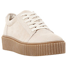 Buy Steve Madden Holllly Flatform Lace Up Trainers Online at johnlewis.com