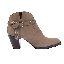 Buy Mint Velvet Ava Block Heeled Ankle Boots Online at johnlewis.com